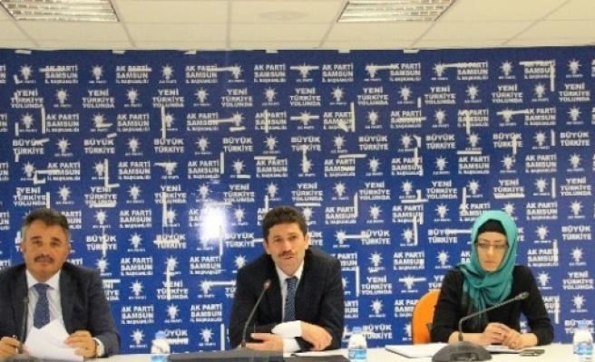 Büyükşehir Belediyesi Ak Parti Grup Toplantısı