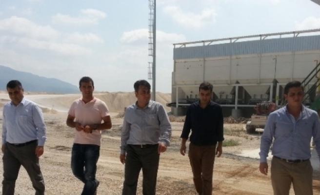 Büyükşehir Belediyesi Şantiyelerinde İş Güvenliği Eğitimi