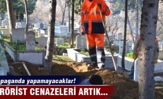 Cenaze defnine 'Terör örgütü' ayarı!