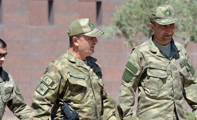 Cerablus operasyonunu yöneten komutan Gaziantep'de