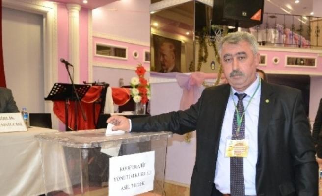 Çerkezköy Yağlı Tohumlar Satış Kooperatifi Başkanı Ünal, Güven Tazeledi