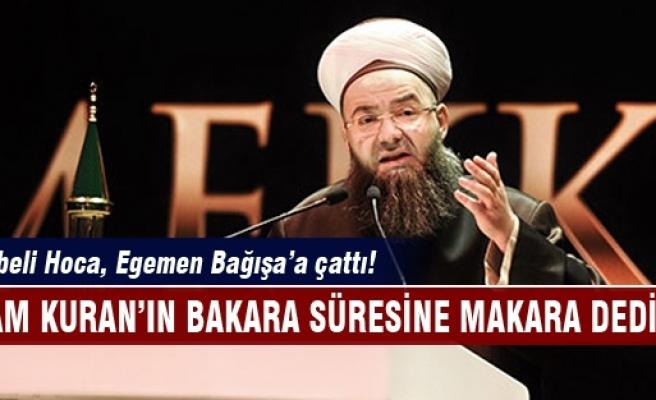 Cübbeli Hoca, Egemen Bağış'a çattı!