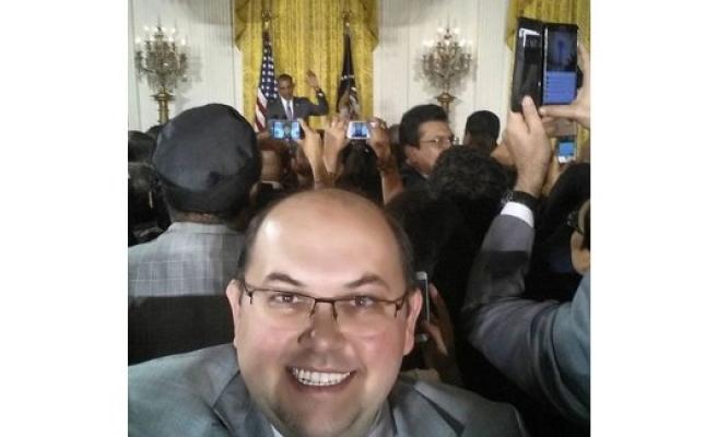 'Darbeci'den Beyaz Saray'da selfie!