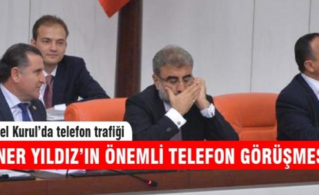 Davutoğlu ile Yıldız'ın telefon görüşmesi