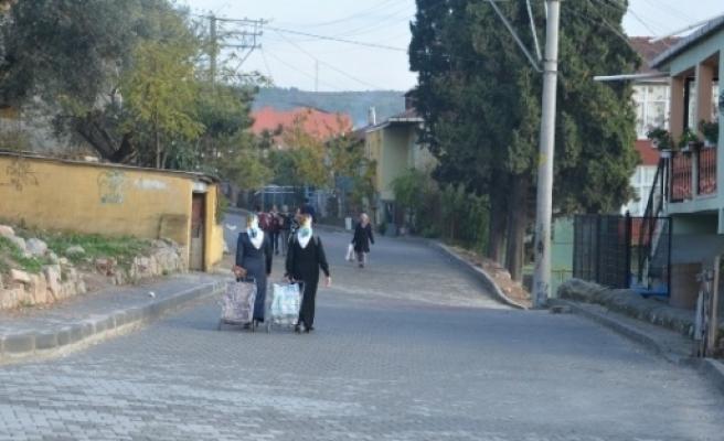 Dilovası'nda Sokaklar Yenileniyor