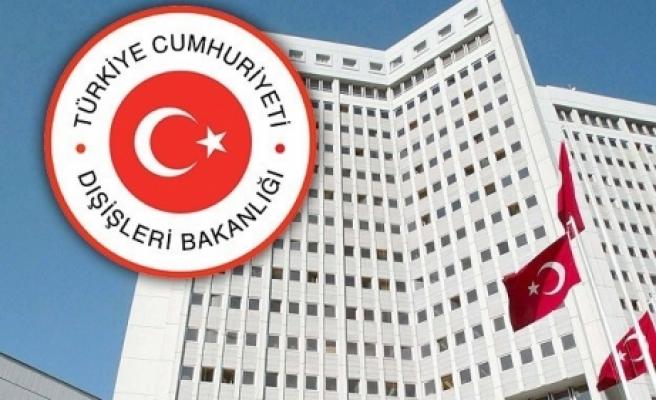 Dışişlerinden Tunus'taki saldırıya kınama