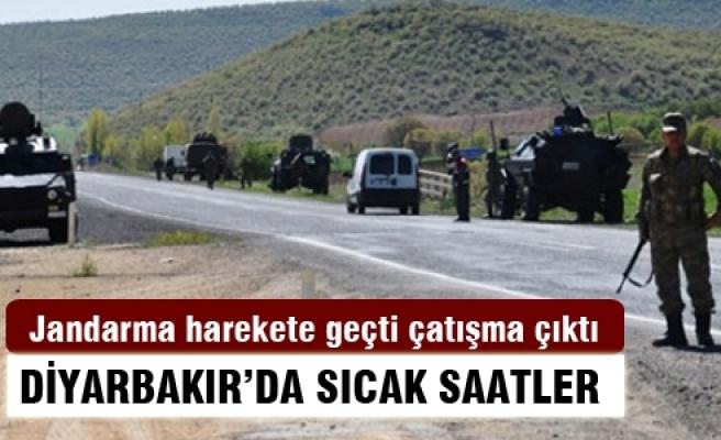 Diyarbakır'da jandarma müdahalesi