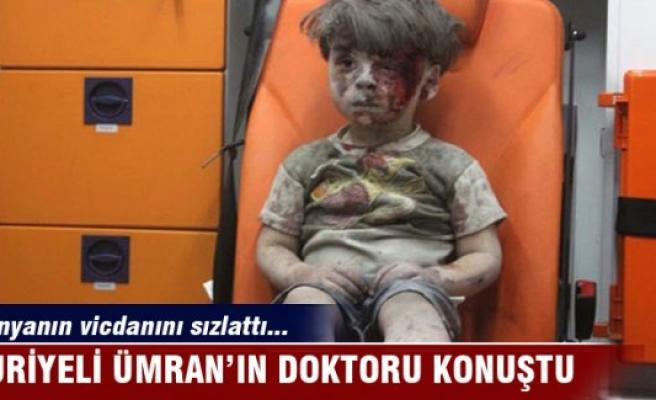 Dünyanın vicdanını sızlatan Ümran'ın doktoru konuştu