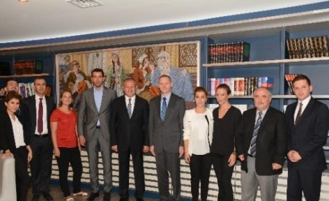 Düzce Belediyesi Dubrovnik Heyetini Ağırladı