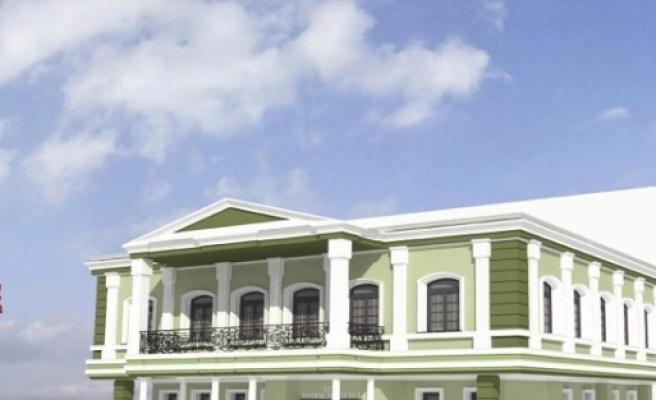 Edirne Valiliği Binası Tarihi Kimliğine Kavuşuyor