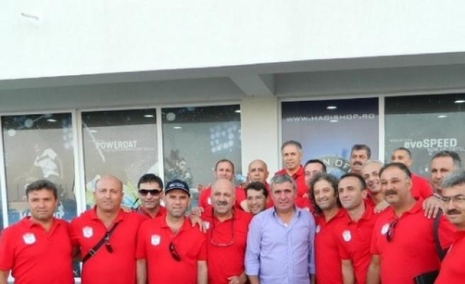 Ege Masterler Romanya'da Gönüllerin Şampiyonu