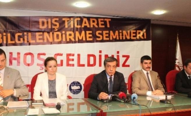 Elazığ'da 'dış Ticaret Semineri' Düzenlendi