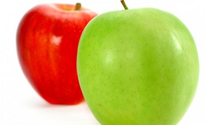 Elma yatak odanızı canlandırıyor