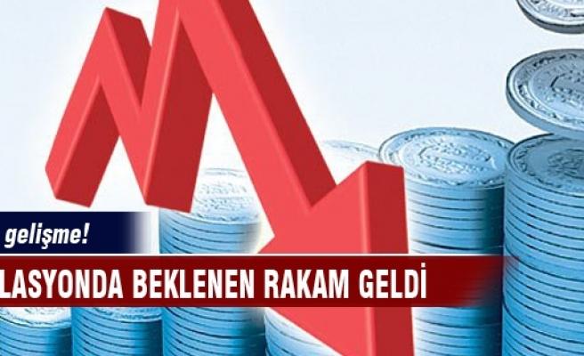 Enflasyon yıllık olarak 94 baz puan düştü