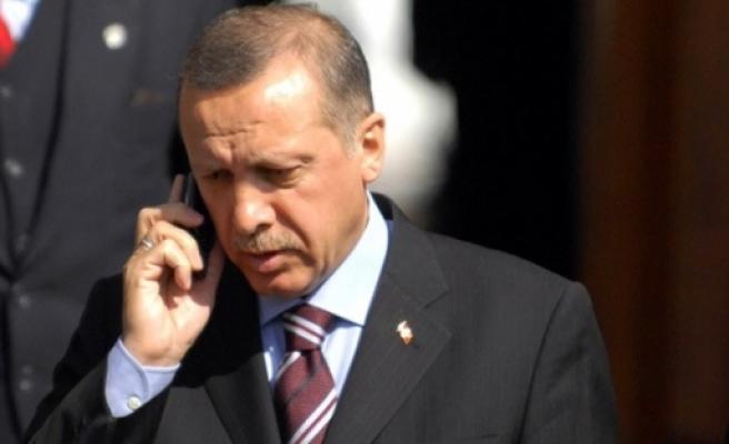 Erdoğan, Hollande ile terörü konuştu!