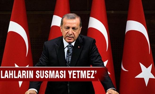 Erdoğan madalya töreninde konuştu