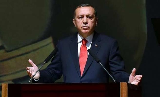 Erdoğan'dan tarihi sözler
