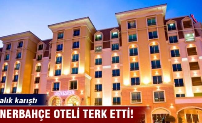 Fenerbahçe oteli terk etti
