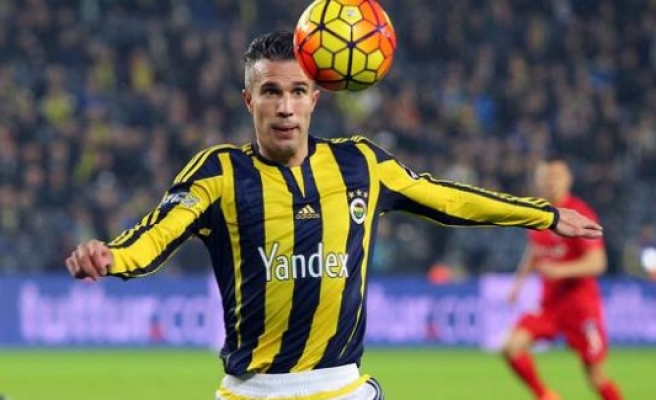 Fenerbahçe'nin golcüsü Van Persie