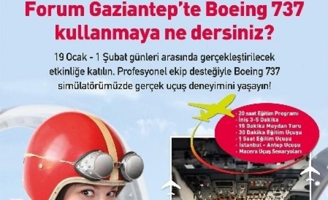 Forum Gaziantep Simülasyon Platformu Kuruyor