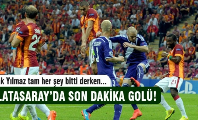 Galatasaray son dakika golü