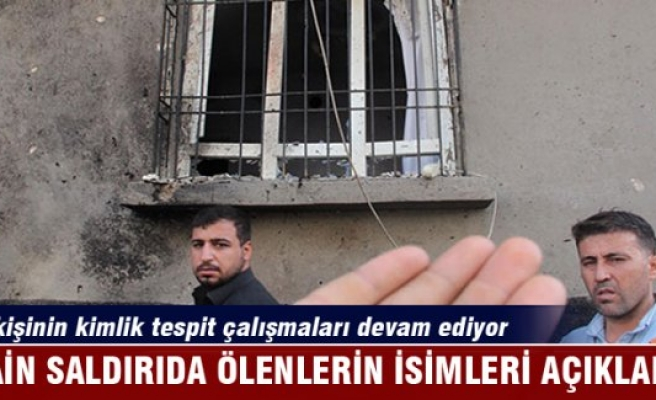 Gaziantep saldırısında ölenlerin isimleri tek tek açıklandı