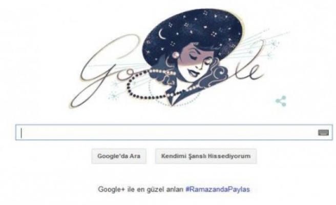 Google, Safiye Ayla'yı unutmadı