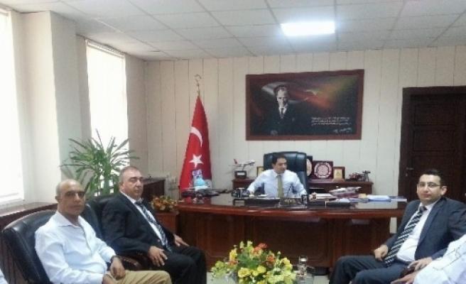 Gto Kültür Turizm Komisyonu, Oğuzeli Kaymakamı Gül'ü Ziyaret Etti