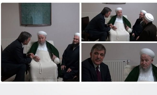 Gül'den İsmailağa Cemaati'ne ziyaret