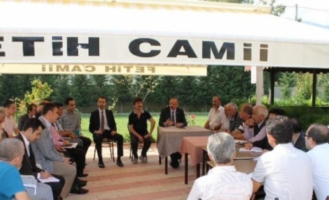 Gürsu Belediye Başkanı Yıldız Vatandaşları Dinliyor