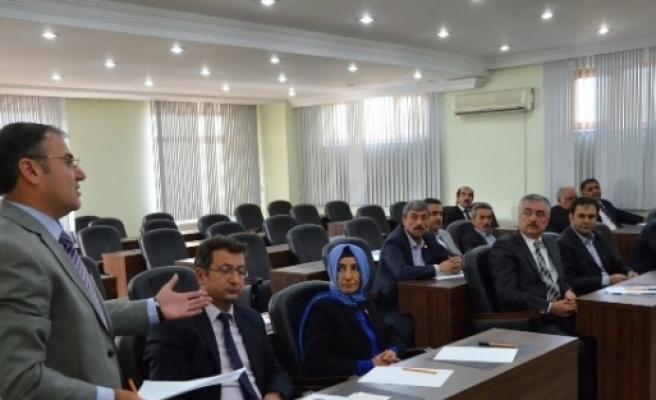 Hacılar Belediye Meclisi Toplandı