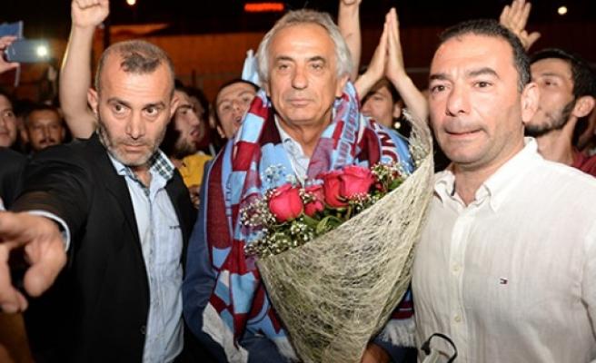 Halilhodzic'e Trabzon'da coşkulu karşılama!