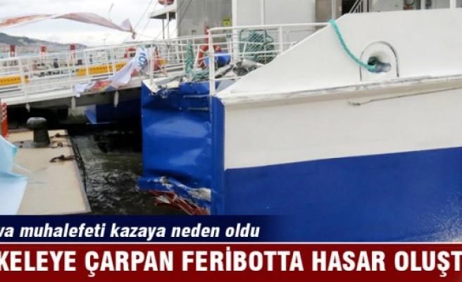 Hava muhalefeti feribot kazasına neden oldu!