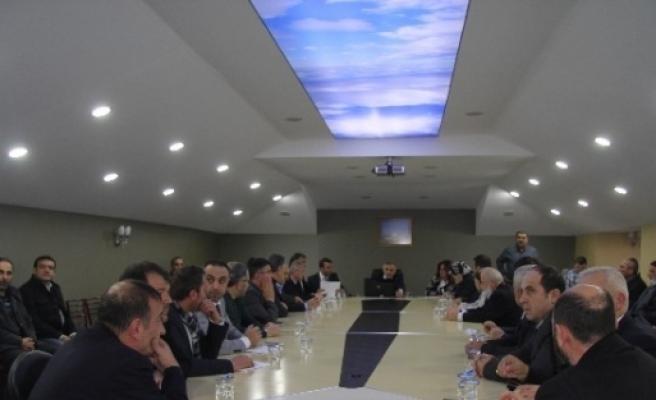 Hendek'te Yılın Son Meclis Toplantısı Yapıldı