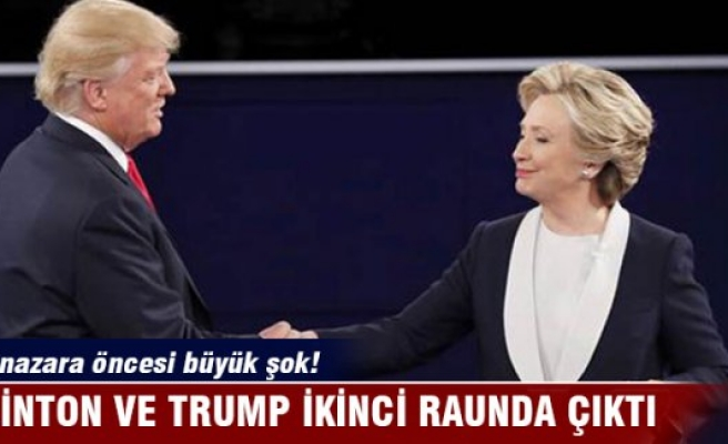 Hillary Clinton ve Donald Trump ikinci raunda çıktı