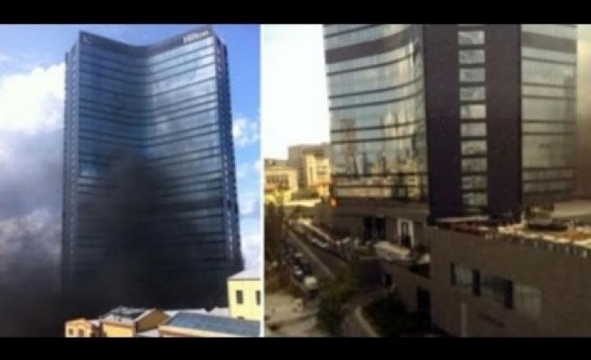 Hilton'da ki yangın nedeni belli oldu!