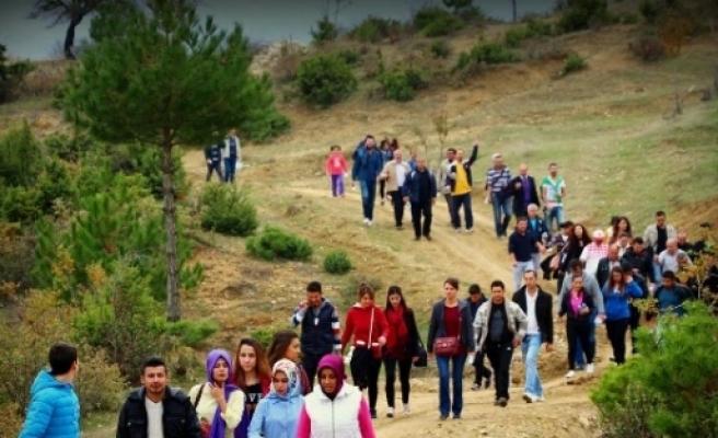 Hisarcık'ta Doğa Yürüyüşü