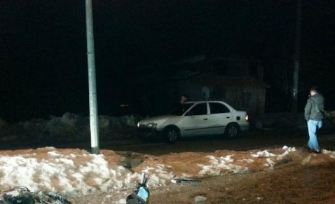 Hisarcık'ta Trafik Kazası: 1 Yaralı