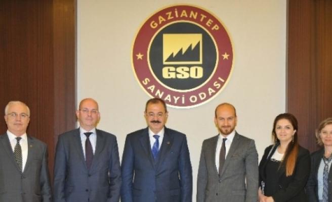 Hollanda Büyükelçiliği Ekonomi Ataşesi'nden Gso'ya Ziyaret