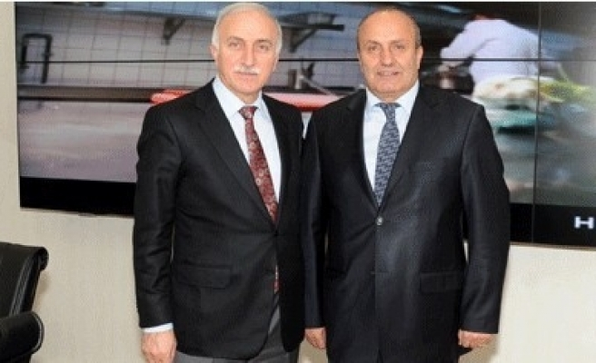 Hüseyin Arslan'dan Vali İbrahim Şahin'e Ziyaret