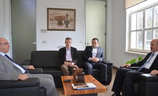 İl Başkanı Torun UEDAŞ'ı ziyaret etti