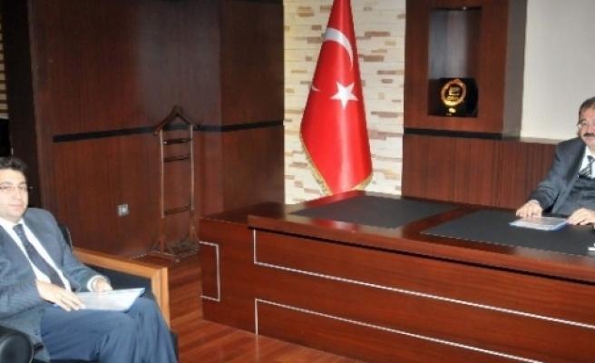 İl Kültür Ve Turizm Müdürü Gso'yu Ziyaret Etti