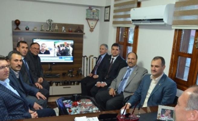 İlim Yayma Cemiyeti Manisa Başkanı Kula'yı Ziyaret Etti
