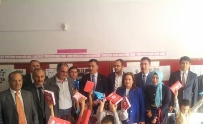 İmamoğlu Ve Aladağ 'da  'eğitime Destek' Kampanyası