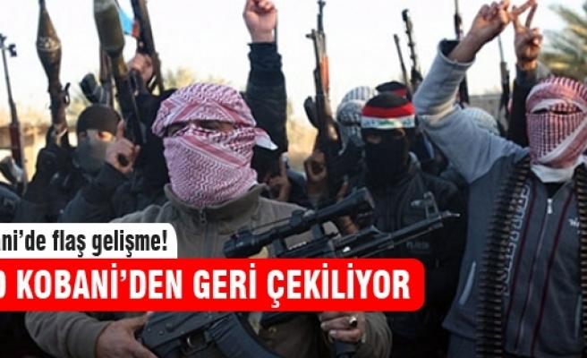IŞİD geri çekiliyor!