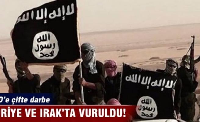 IŞİD'e çifte darbe