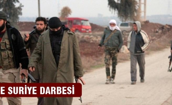 IŞİD'e Suriye darbesi