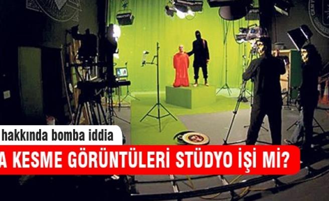 IŞİD'in kafa kesmesi stüdyo çekimi mi?