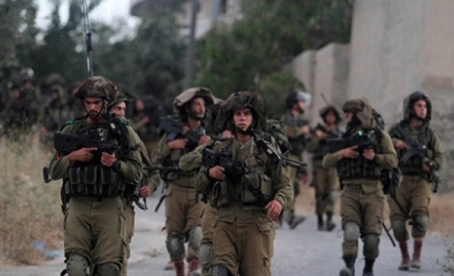 İsrail ordusu harekete geçti