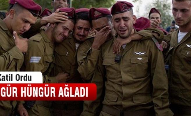 İsrail ordusunun gözyaşları